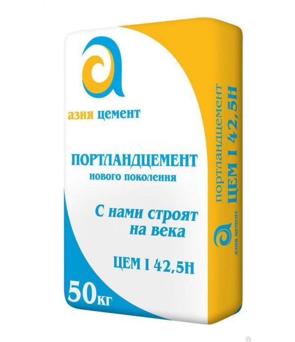 Цемент АЗИЯ М-500 40 кг мал.мешок