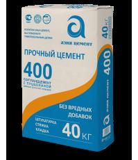 Цемент АЗИЯ М-400 40 кг м�...