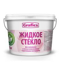 Жидкое стекло 7кг GRAFICS