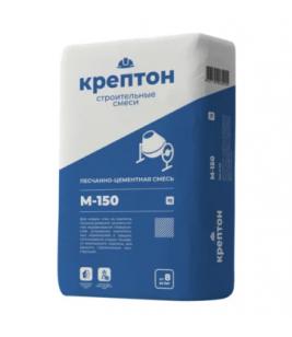 Цементно-песчаная смесь М-150 25кг KREPTON (48шт)