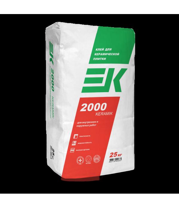 Плиточный клей EK 2000 25кг (50 меш/уп)