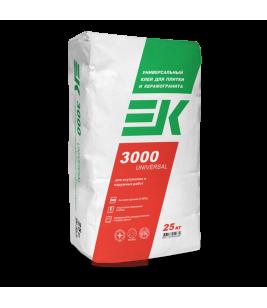 Плиточный клей EK 3000 UNIVERSAL 25кг (50 меш/уп)