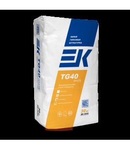 Штукатурка гипсовая EK ТG40 Белая 30кг (40 меш/уп)